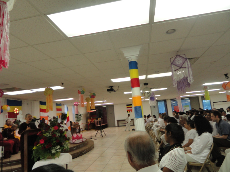 Great Lakes Buddhist Vihara Vesak Celebration, Northland, Michigan, USA (1 June 2014)