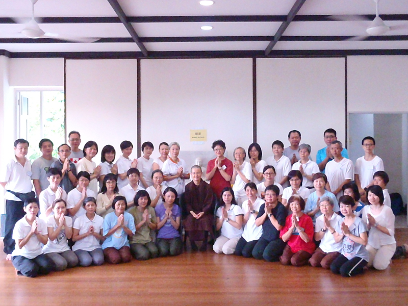 Singapore: 5-Day Mindfulness of Breathing & Contemplation of Mind Retreat (20-25 Sep 2013)